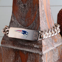Personalized New England Patriots Fan Favorite Bracelet