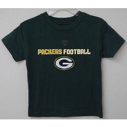 Boy's Green Bay Packers Football T-Shirt