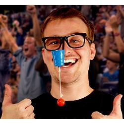 Nose Aerobics Basketball Toy