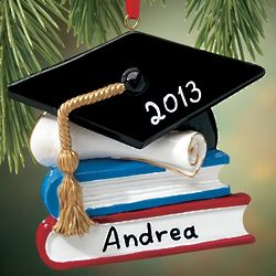 Personalized Graduation Books Ornament