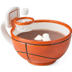 Basketball Mug with a Hoop