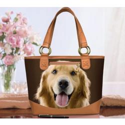 Faithful Friend Dog Tote Bag