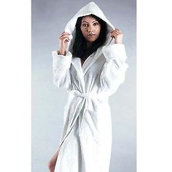 Ladies Ultra Hooded Terrycloth Robe