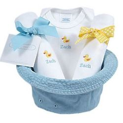Yellow Ducks Bucket Hat Baby Gift