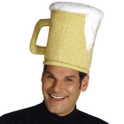 Adult Beer Mug Hat