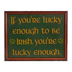 Lucky Irish Sign