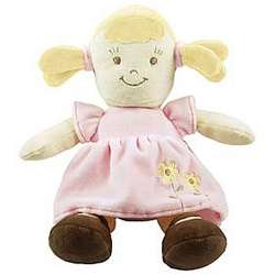 Organic Plush Blonde Doll