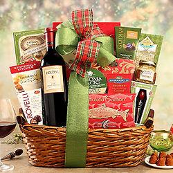 Houdini Napa Cabernet Season's Greetings Gift Basket