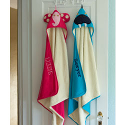 3 Sprouts Personalized Animal Hooded Towels