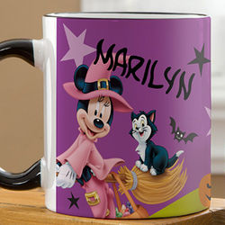 Personalized Minnie Mouse Halloween Coffee Mug