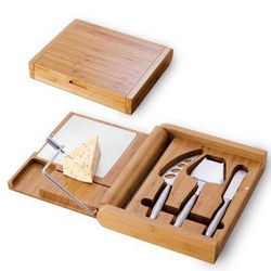 Soiree Bamboo Cutting Board and Accessories