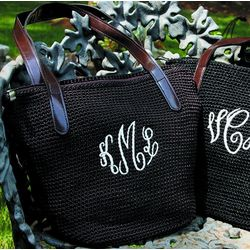 Crocheted Personalized Handbag