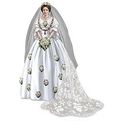 The Royal Wedding of Queen Victoria Bridal Figurine