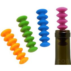 Flexible Wine Stoppers