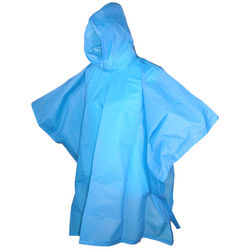 Kids Hooded Pullover Rain Poncho Set