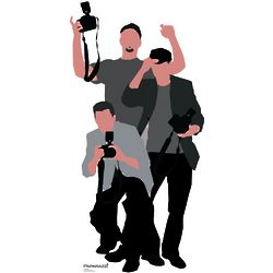 Paparazzi Stand-Up Party Decoration