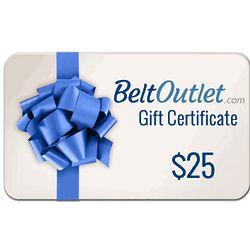 $25 Gift Certificate for Beltoutlet