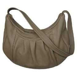 Pleated Pocket Shoulder Bag