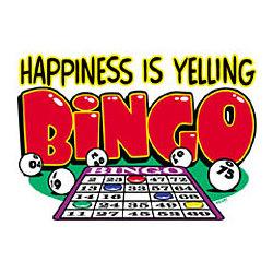 Happiness - Bingo T-Shirt