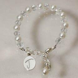 Engraved Godchild Bracelet