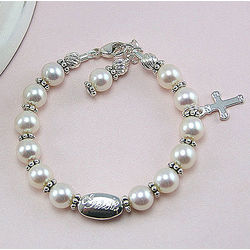 Sophisticated Baby in Pearls™ Bracelet