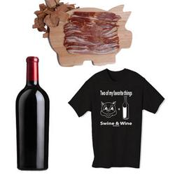 Swine and Wine Club with Red Wine for 3 Months