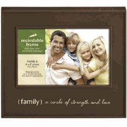 Family Recordable Picture Frame