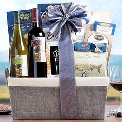 Alfasi Wine Duet Kosher Gift Basket