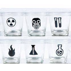 Science Lab Shot Glasses
