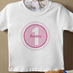 Personalized Baby It's Your Birthday T-Shirt