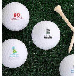 Personalized Nike Mojo Birthday Golf Balls