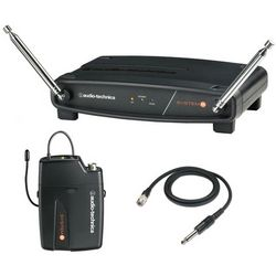 System 8 Wireless Lavalier Guitar/Instrument Microphone Setup