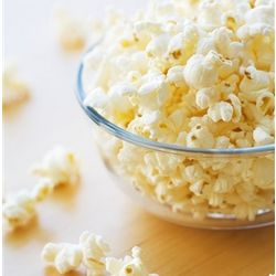 Virtually Hulless Microwave Kettlecorn
