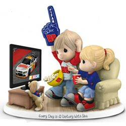 Precious Moments Every Day Is a Victory with You NASCAR Figurine
