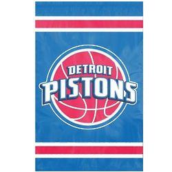 Detroit Pistons Appliqué Embroidered Flag