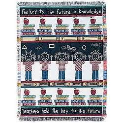 Teachers Pet Tapestry Throw
