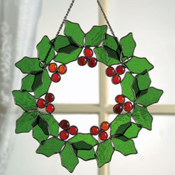 Holly Berry Suncatcher