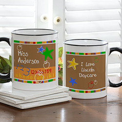 Preschool/Daycare Personalized Teacher Mug