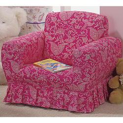 Skirted Pink Rocker