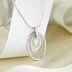Diamond Generation Rings Necklace