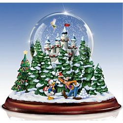 Old Fashioned Disney Christmas Musical Snowglobe