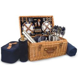 Denver Broncos Windsor Willow Picnic Basket