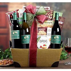 Cliffside Vineyards Exclusive Gift Basket