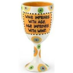 Improves with Age Goblet