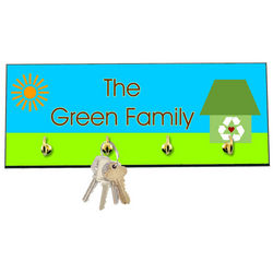 Green Home Decorative Key Hanger
