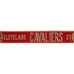 Cleveland Cavaliers Court Street Sign
