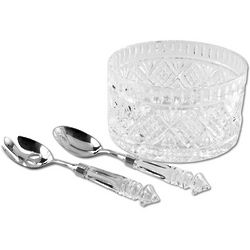 Dublin Crystal Salad Set