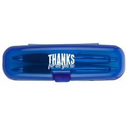 Thanks for All You Do Pen Set and Case