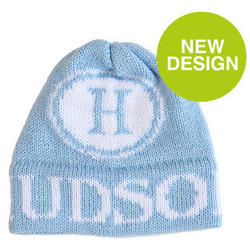 Baby or Toddler's Personalized Initial Stamp Winter Hat