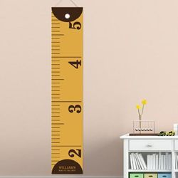 Measure Him Personalized Tape Measure Height Chart
